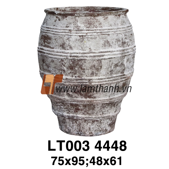 Vietnamese Ceramic Pottery/Classic Romance Ancient Rust Pottery 4448