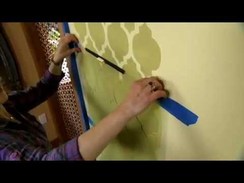 Wall decor stencils free