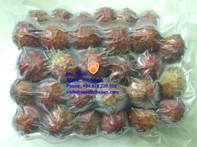 FROZEN RAMBUTON FRUIT