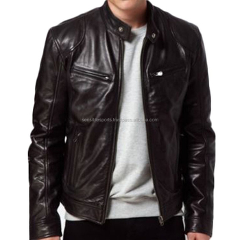Fashion Cheap Mens Leather Jacket,Cheap Mens Leather,Good Quality ...