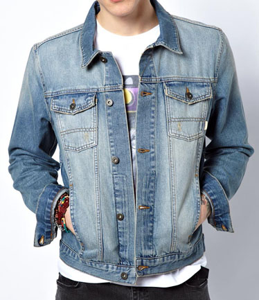 Collection Jeans Jacket Mens Pictures - Reikian