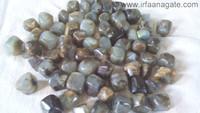Labradorite Tumbled Stones: Wholesale Gemstone Tumbled Stones