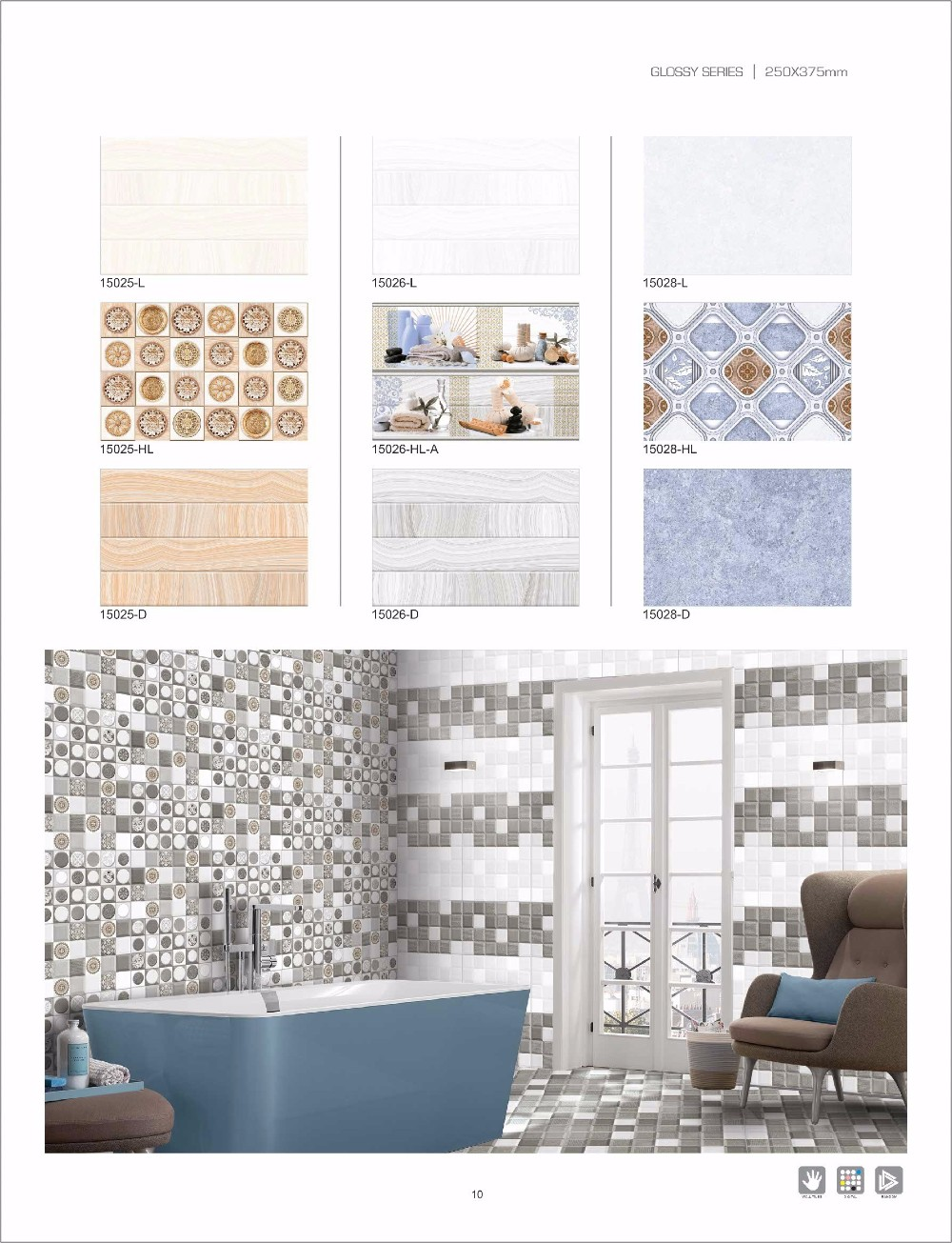 Wall tiles with matching floor tile bathroom floor tile buy wall tiles with matching floor tile bathroom floor tile doublecrazyfo Images