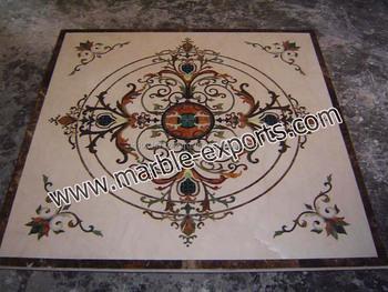 Tavoli Di Marmo Intarsiati : Piano degna pietra dura piazza mosaico di marmo pietra intarsiato