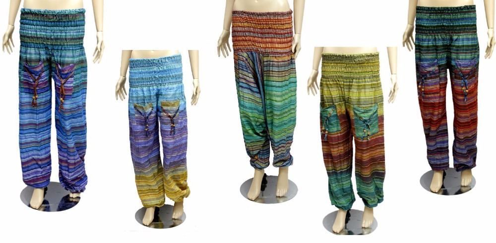 Hand Made Hippie Yoga Harem Pants Tie Dye Boho Gypsy Yogi Men Women Unisex Hippie Boho Yoga Pants Gypsy Trousers S M L Xl Xxl Buy Indian Harem Pants Wholesale Gypsy