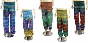 63c3fb50f563b Hand Made Hippie Yoga Harem Pants Tie Dye Boho Gypsy Yogi Men Women Unisex hippie  Boho