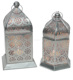 silver plated Moroccan antique lanterns