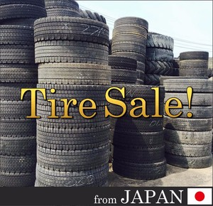 Bridgestone Toyo Yokohama Michelin 295/80R22.5 used truck tire tyre for export, casing for recapping, retreading Japan