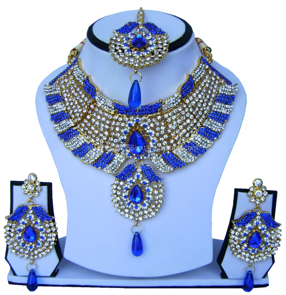 Gold Plated Maang Tikka Partywear Wedding Bridal New Ethnic Partywear 424 Moderate Cost Jewellery & Watches