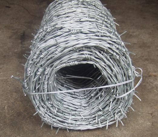 barbed wire galvanized steel