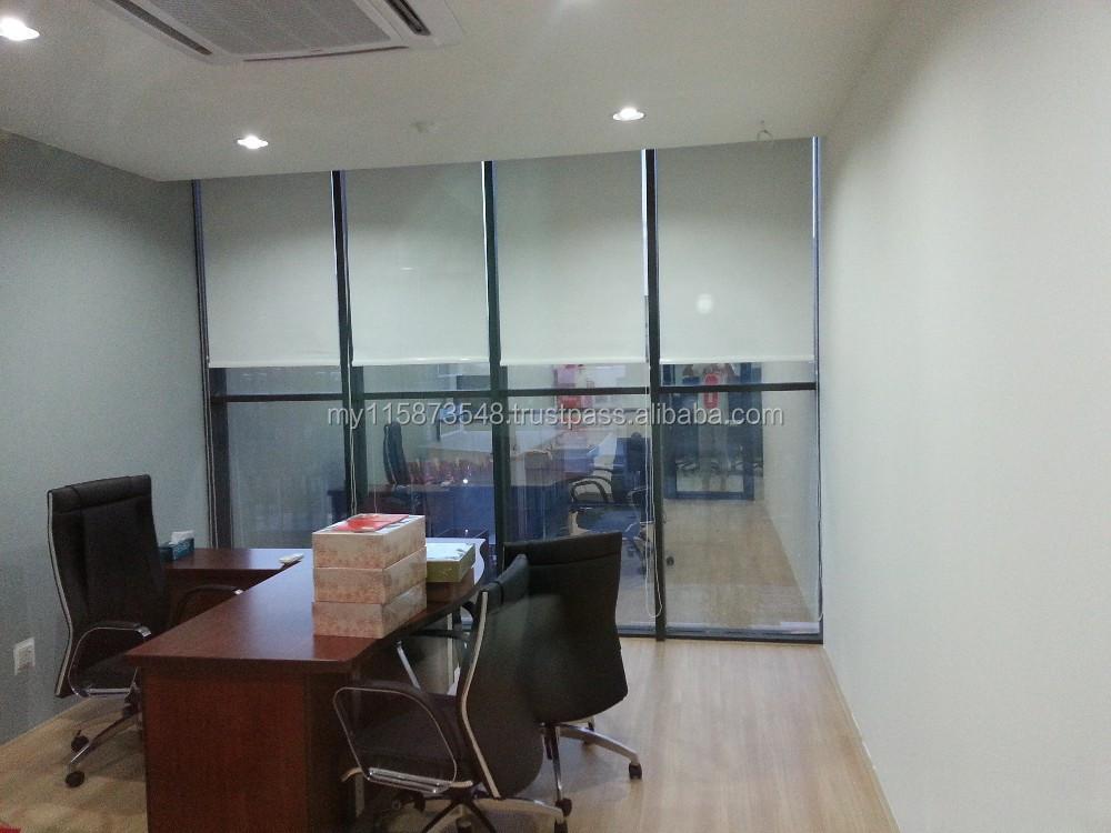 Office Roller Blinds : الستائر الدوارة مكتب ستائر وظلال ومصاريع معرف المنتج