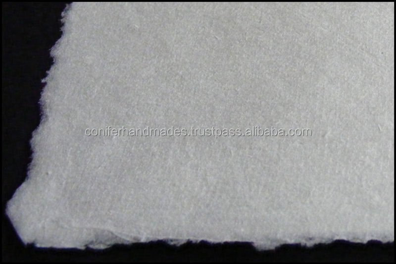 Handmade Drawing Paper With Deckled Edges