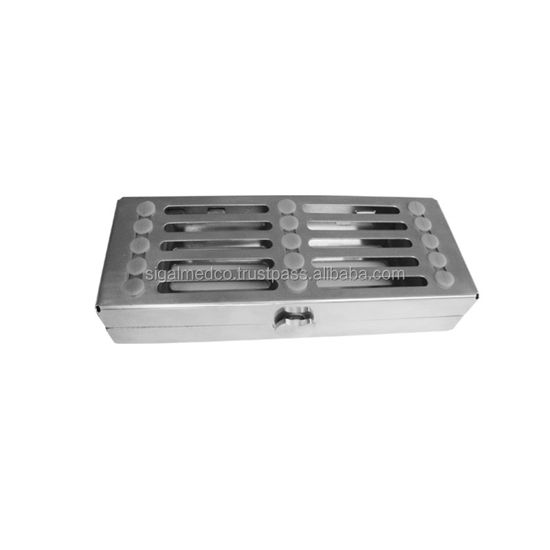 Stainless Steel Dental cassette autoclave sterilizer Trays