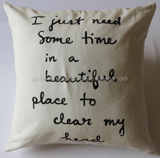 Customised Statement Cushion Cover