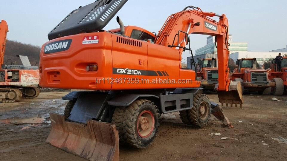 South Korea Doosan Wheel Excavator, South Korea Doosan Wheel ...