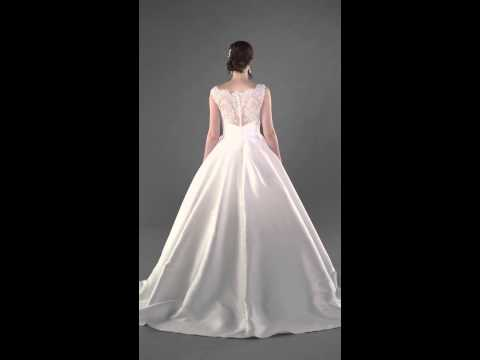 Lace Wedding Ball Gown - Essense of Australia - D1790