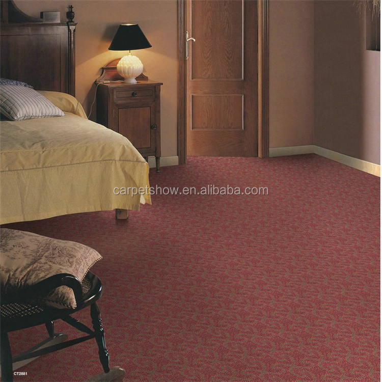 Cut pile cheap price broadloom wall to wall carpet buy for Carpet wall to wall prices
