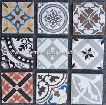 Vietnam Encaustic Handmade Cement Tiles, Carpet Tiles