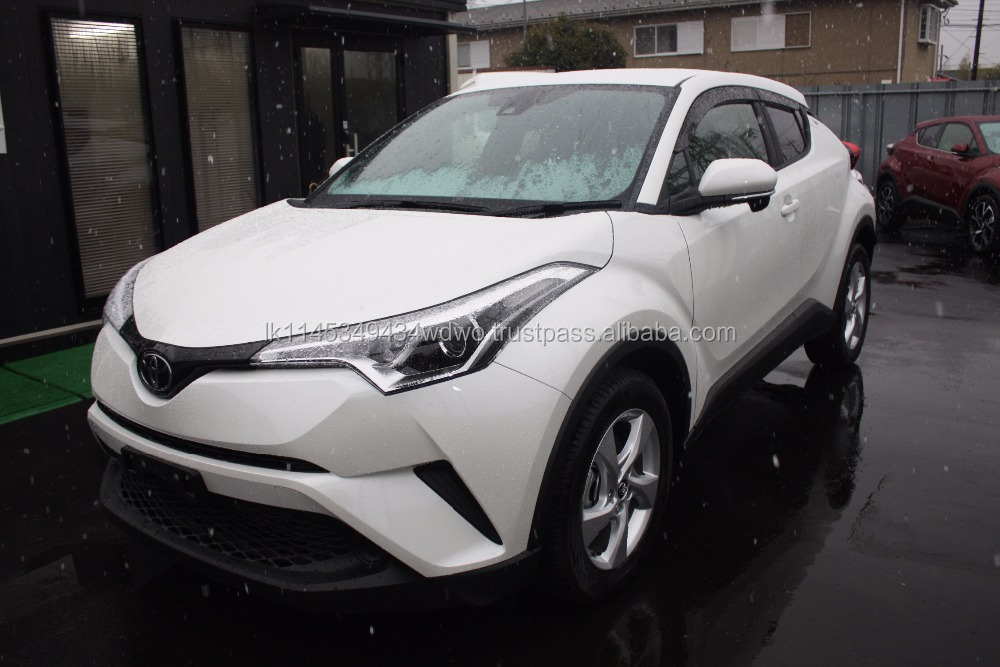 Brand New 2017 Toyota C-HR S-T Gasoline 1200cc from Japanese Supplier