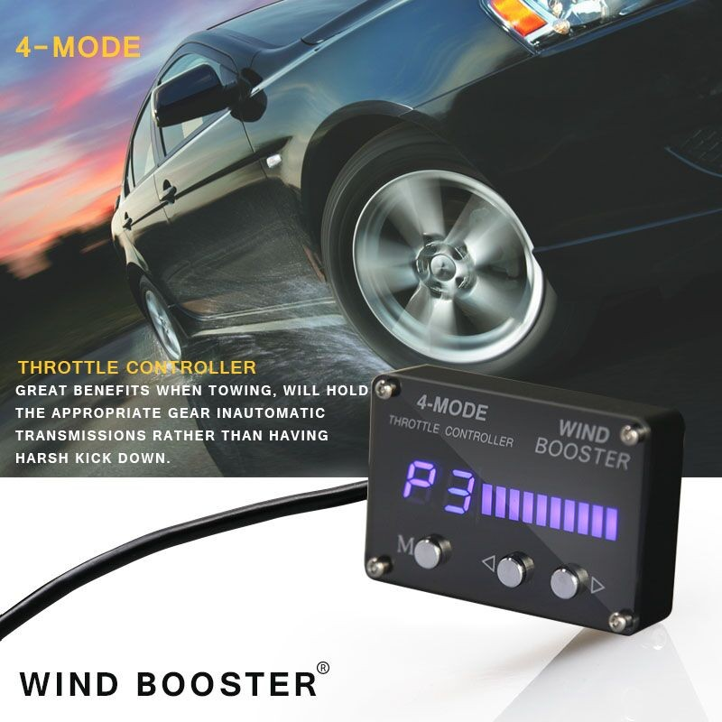 Standalone And Oem Ecus Supported Toyota Pedal Box Wind Booster 4 Mode  Racechip Electronic Throttle Controller For Chrysler - Buy Electric  Throttle