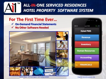 Serviced Residences Hotel Software - Buy Hotel And Restaurant  Software,Hotel Management System Software,Software Used In Hotels Product  on Alibaba com