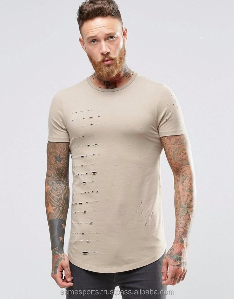 distressed plain short Attractive color t shirt,cheap t shirts,cheap promotional tees