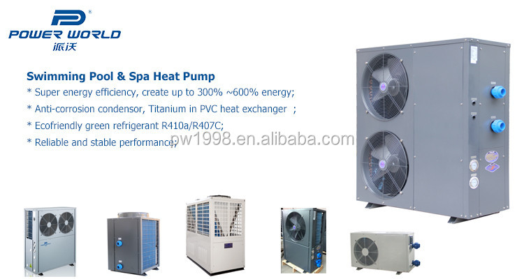 30kw Php30 Hs T Jacuzzi Spa Swimming Pool Heat Pump Water Heater For 70m3 Indoor Pool Buy