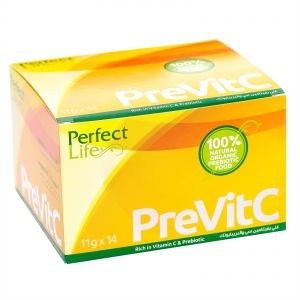 PreVitC Natural Vitamin C with Prebiotic, Box of 14 Pieces (11g x 14)
