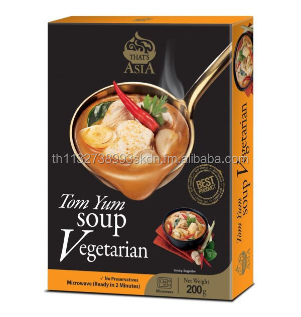 THAT'S ASIA: Ready to Eat Tom Yum Soup Vegetarian