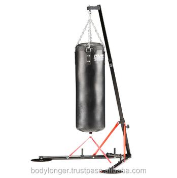 Punching Bag Folding Rack Fixed Band Gym Equipment