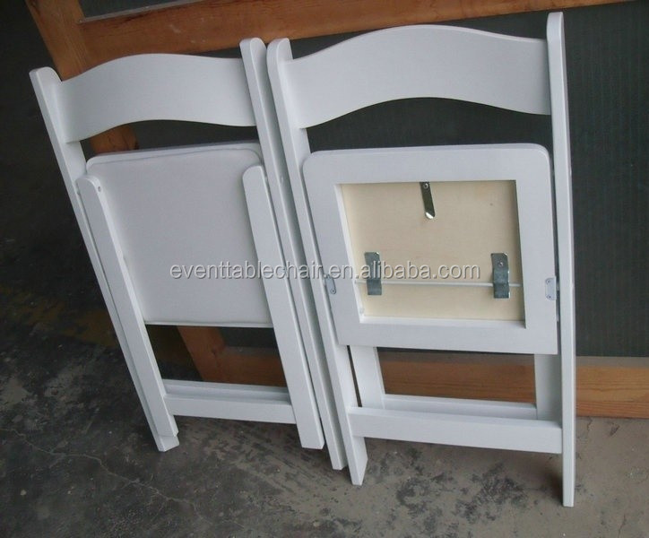 Used White Wooden Wedding Folding Chairs For Sale Buy Used Wedding Folding