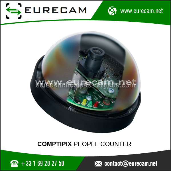 COMPTIPIX People Counter Can Use For Library, Pool, Airport, Station, Bus Application