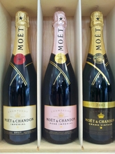 Moet and Chandon Rose Imperial champagne