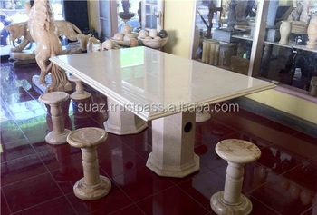 Marble Dining Table Luxury Onyx Stone Tables With Chairs
