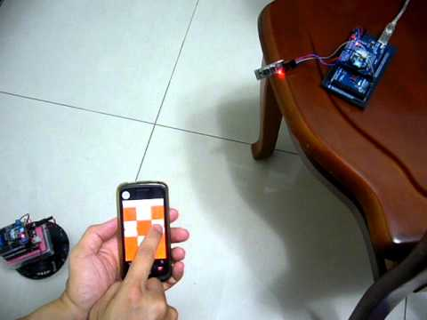 Remote Control Car = Arduino + XBee Zigbee) + Bluetooth + Android phone
