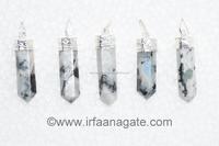 Rainbow Moonstone Pencil Cap Pendants: Wholesale Gemstone Healing Point Pendants
