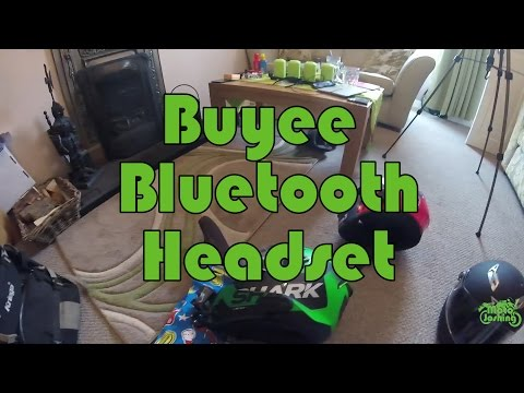 Cheap Bluetooth Motorbike Headset Review - Buyee BT Headset