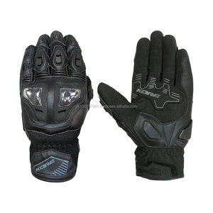 Racing Gloves for Bikers - Motorbike Leather Gloves