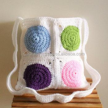 Spring Crochet Bagcrochet Bag Pattern Onlycrochet Tote Pattern