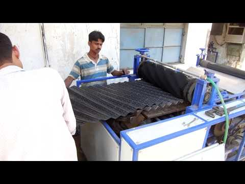 pvc fills for cooling tower | cooling tower packing material cooling tower fill forming machine