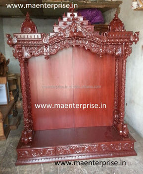 Large Size Wooden Temple Design For Home