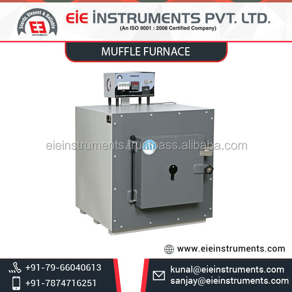 Ceramic Fibre Wool Muffle Furnace Available from Top Grade Dealer