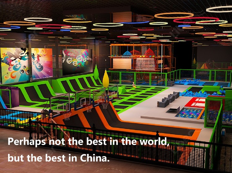 family entertainment centers big profit return massive jumping mats Ninja Course