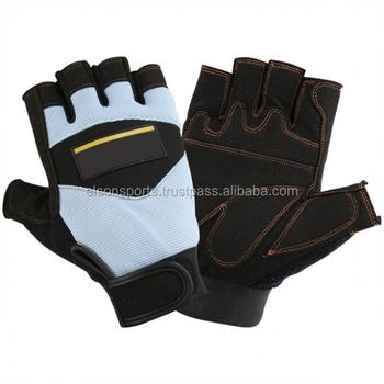 Finger Less Mechanic Gloves Buy Gloves Without Fingers Custom