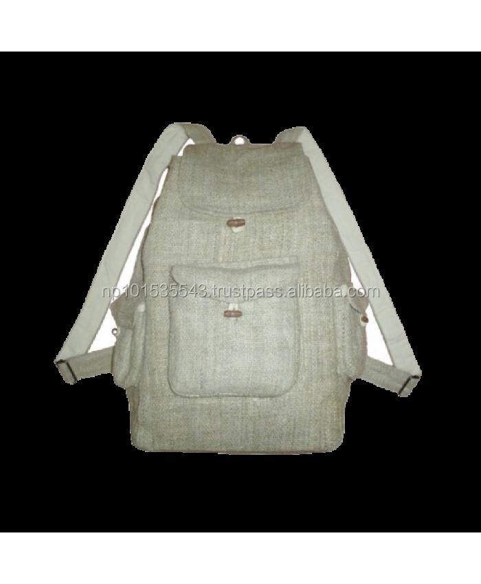 Reinem Hanf Rucksack/handmade Hanf Taschen/hanf Mode-taschen - Buy ...
