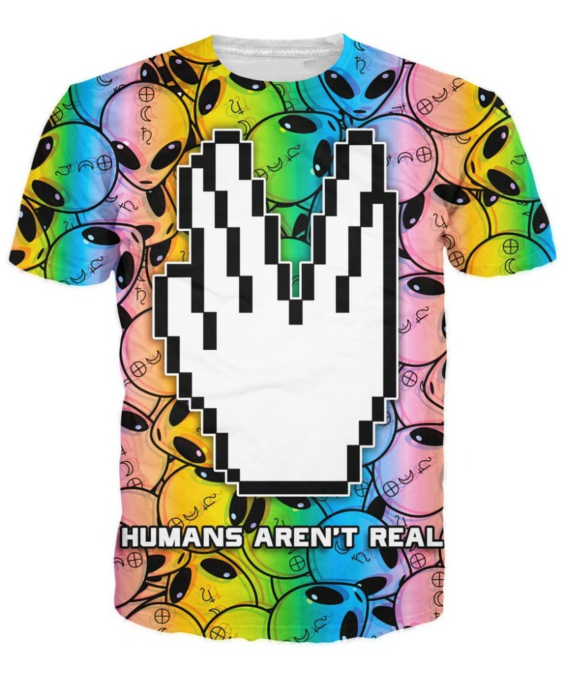 Custom Dye Sublimation T Shirt Printing All Over Sublimation