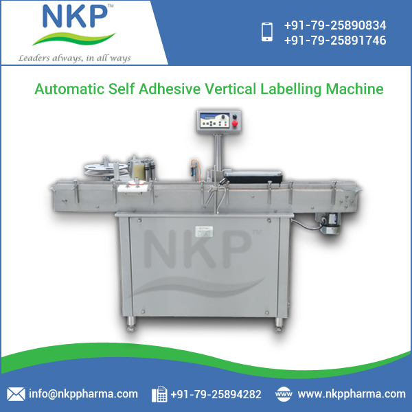 Excellent Performance Cost Effective Vertical Labeling Machine at Attractive Rate