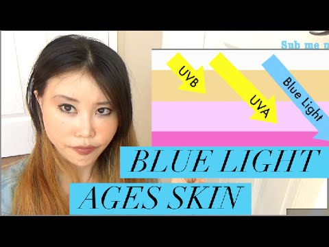 Blue light Ages Your Skin | How to Reduce Blue Light Exposure