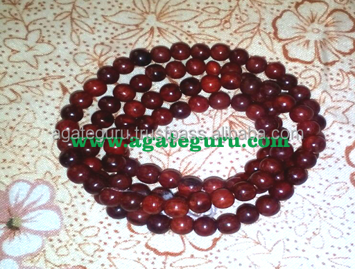 Red Sandal Wood Beads