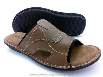 men's leather sandals on sale